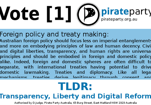 TLDRvote1ppau21ForeignPolicy